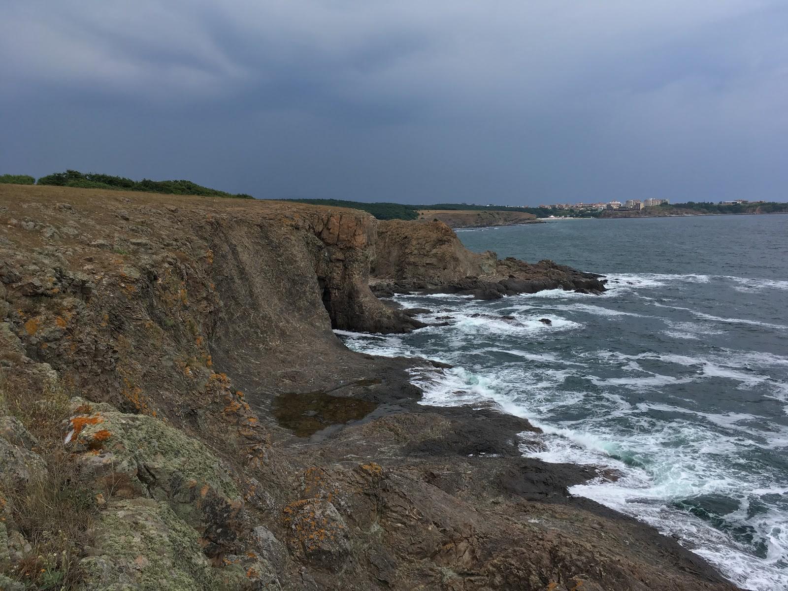 cliff edge at Sinemorets