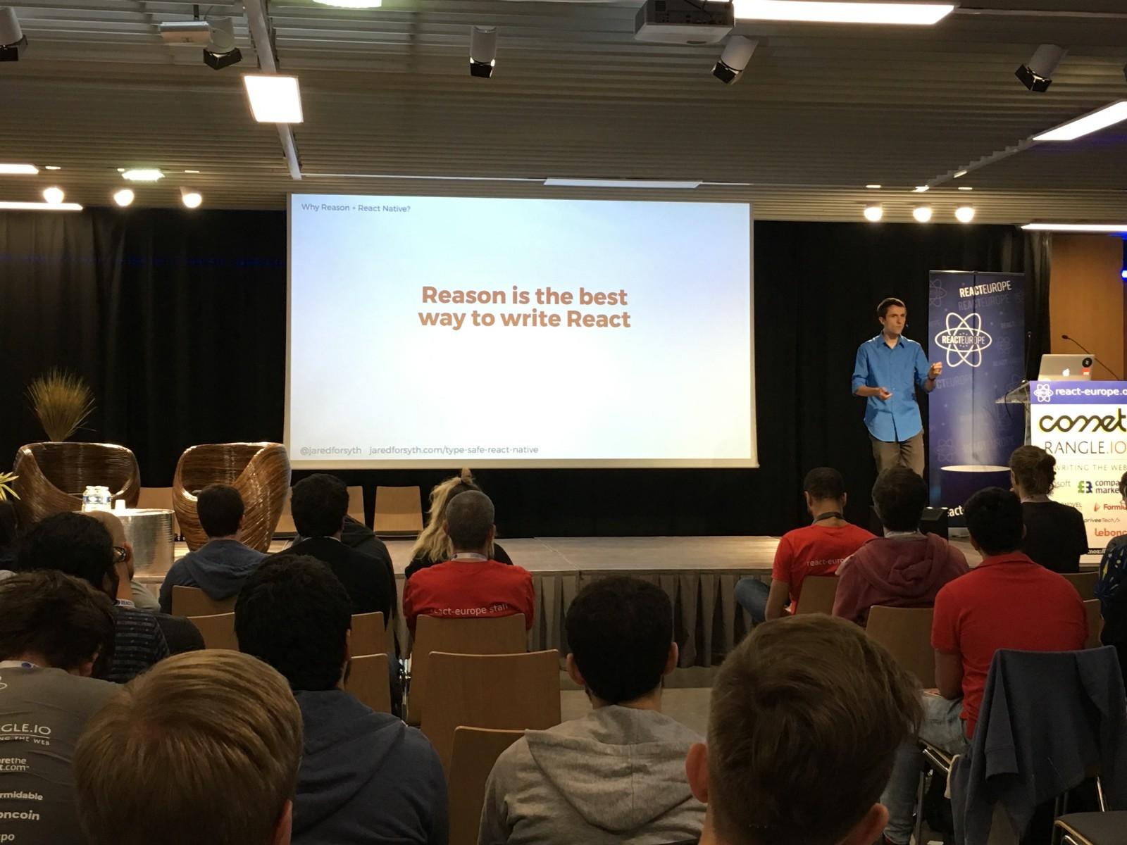 Jared Forsyth on Reason at ReactEurope 2018