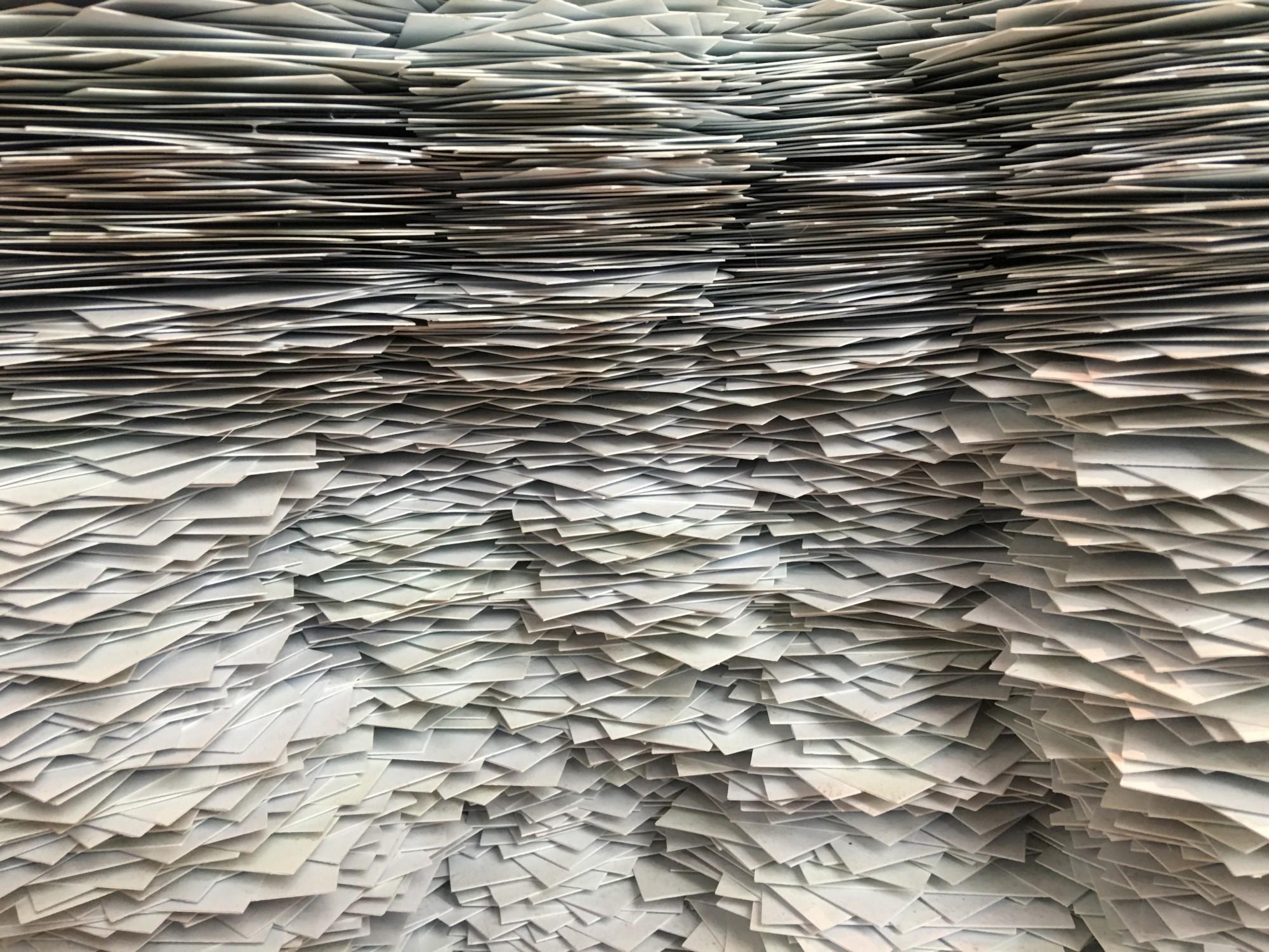 mound of paperwork