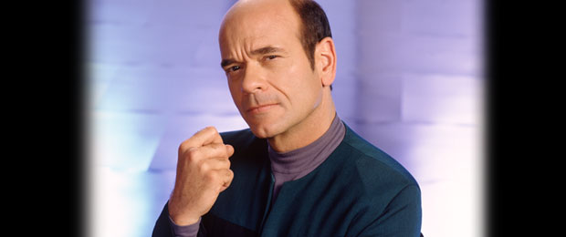 Robert Picardo as the Star Trek Doctor