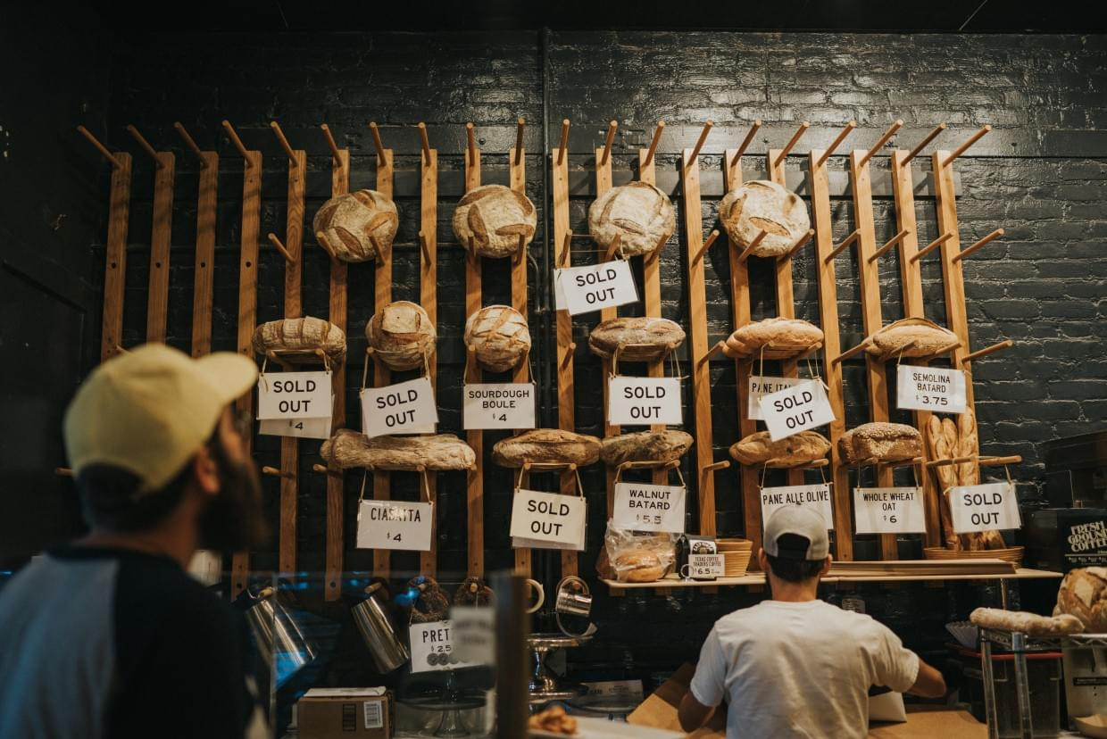 Sourdough - Photo by Jay Wennington on Unsplash