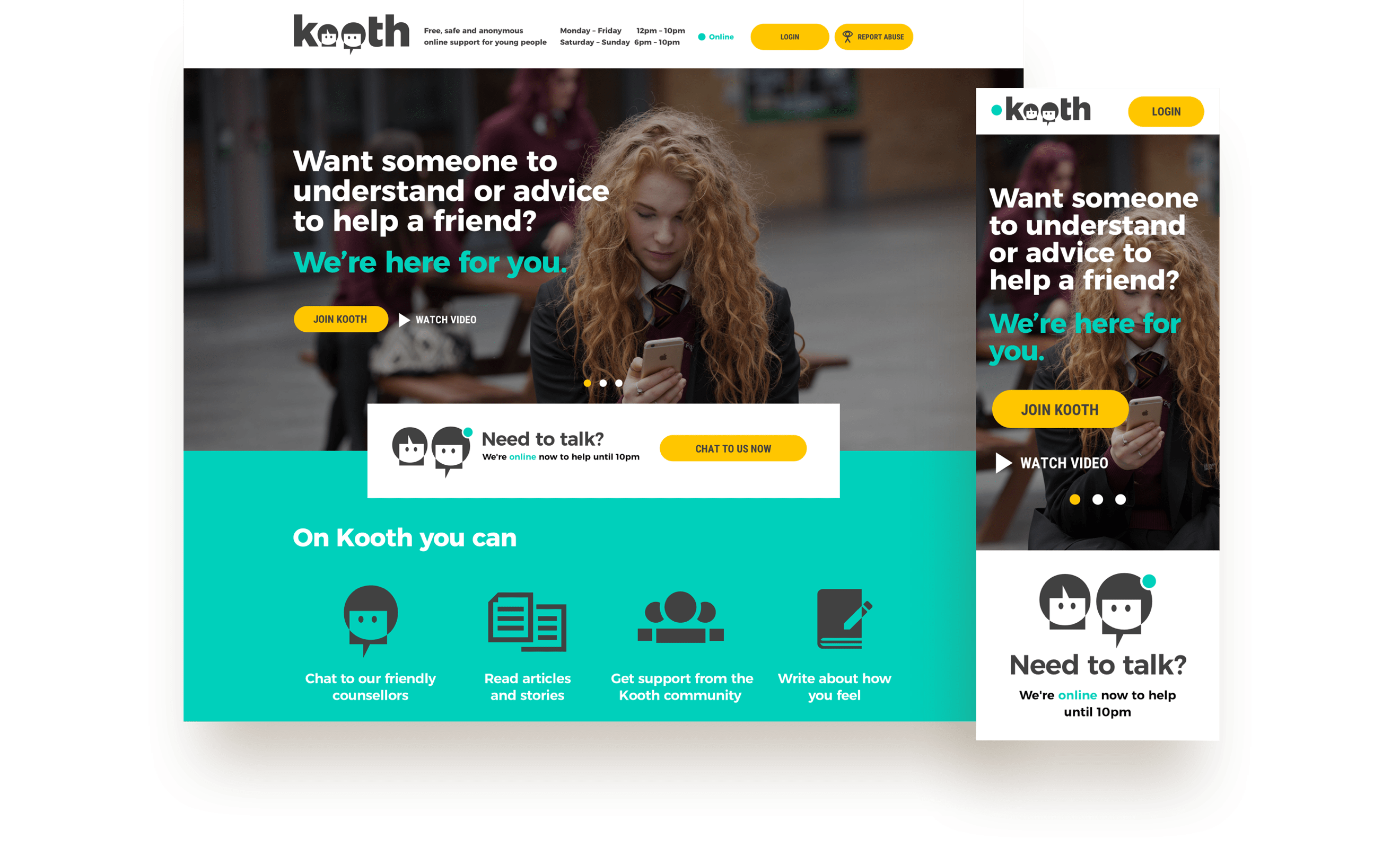 Case Study The Kooth Platform Despark